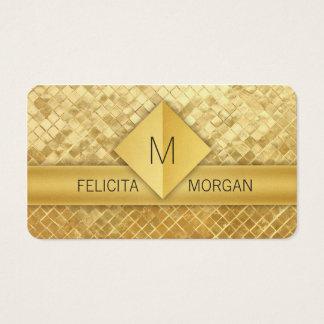Modelos de cartão de negócios luxuosos do