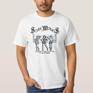 Modelos escala tshirts