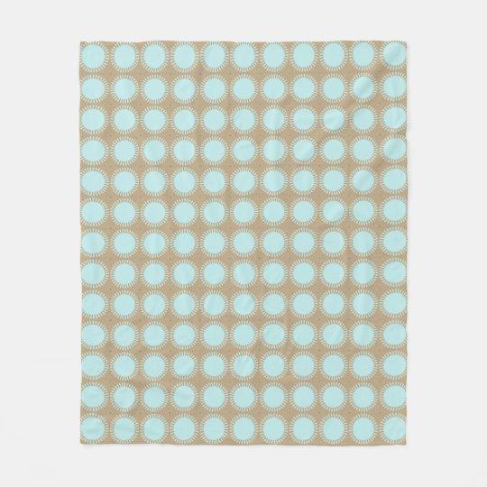 Modern-Classic-Aqua-Beige_Fleece-S-M-L Cobertor De Lã