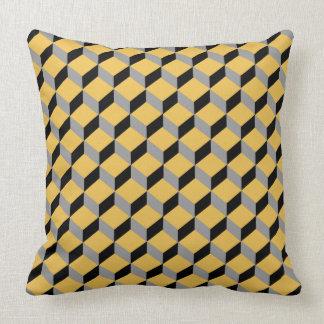 Moderno Funky corajoso da ilusão óptica modelado Travesseiro De Decoração