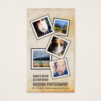 ModernPhotographer com as 5 fotos da amostra Cartão De Visitas