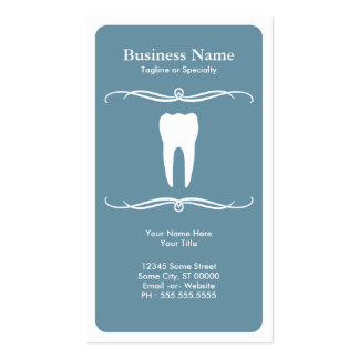 modificação dental cartão de visita