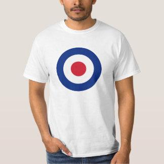 Modificação - Roundel clássico - alvo do tiro ao Camiseta