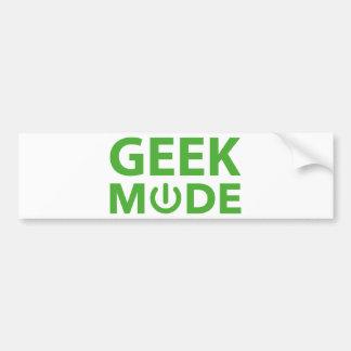 Modo do geek adesivo para carro