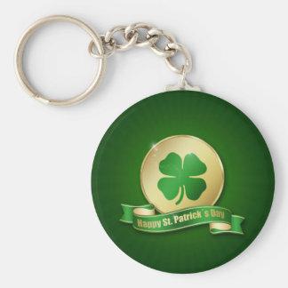 Moeda do dia de St Patrick - chaveiro