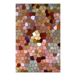 Moedas abstratas do metal da prata do cobre do vit papelaria
