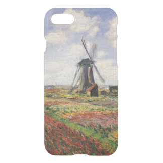 Moinho de vento de Rijnsburg dos campos da tulipa Capa iPhone 7