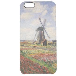Moinho de vento de Rijnsburg dos campos da tulipa Capa Para iPhone 6 Plus Clear