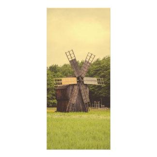 Moinho de vento, museu da vila, Sibiu Panfletos Informativos