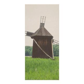 Moinho de vento, museu da vila, Sibiu 10.16 X 22.86cm Panfleto