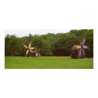 Moinho de vento, museu Sibiu da vila