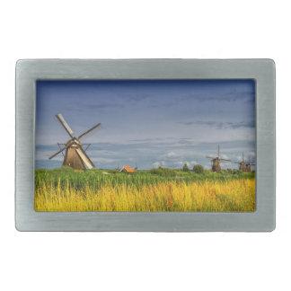 Moinhos de vento em Kinderdijk, Holland, Países