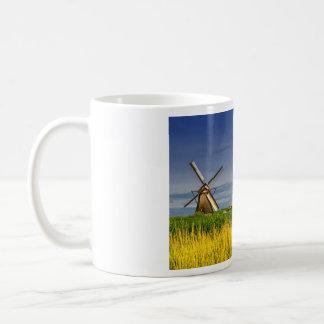 Moinhos de vento em Kinderdijk, Holland, Países Caneca De Café