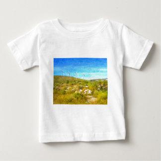 Moinhos de vento modernos camiseta