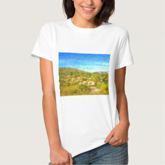Moinhos de vento modernos tshirt