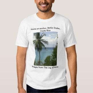 Moira na âncora, Baía Drake, Costa Rica T-shirt