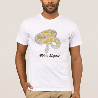 Mojave do albino camisetas
