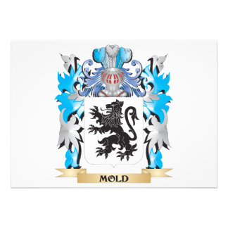 Mold Coat of Arms - Family Crest Cards