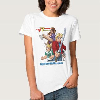 Molde do cano principal da ativação dos radicais camisetas