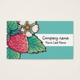 Molde do cartão de assunto pessoal da planta de