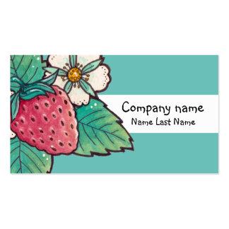 Molde do cartão de assunto pessoal da planta de cartão de visita