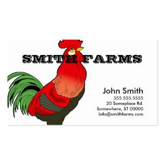 Molde do cartão de visita do estilo da fazenda