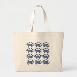 Molde dos caranguejos bolsa tote grande