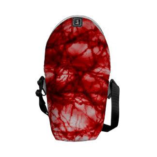 Molde Gnarled vermelho Bolsa Mensageiro