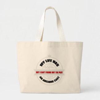Molde impressionante bolsa para compras
