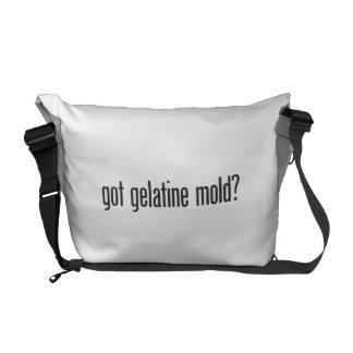 molde obtido do gelatine bolsas mensageiro