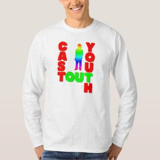 Molde para fora a juventude t-shirts