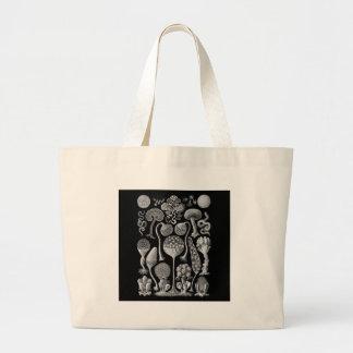 Moldes de limo em preto e branco bolsa para compras