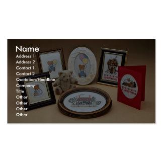 Molduras para retrato cartões de visitas