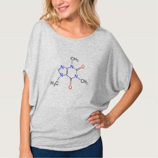 molécula da cafeína camiseta
