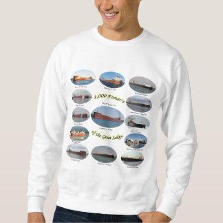 Moletom 1.000 pés de página na camisola dos grandes lagos