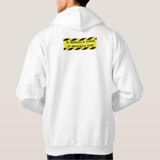 """Moletom """"2 hoodies do ciclismo das rodas bons"""" para o"""