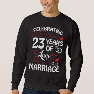 Moletom 2ó T do aniversário. Traje para a esposa do marido