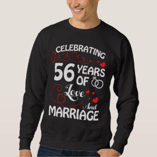 Moletom 56th T do aniversário. Traje para a esposa do