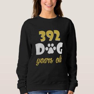 Moletom 56th Traje do aniversário para o amante do cão