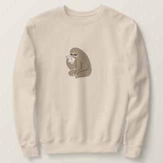 Moletom A camisola básica dos homens da preguiça