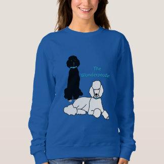 Moletom A camisola das mulheres de Wonderpoodles