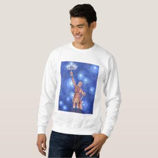 Moletom A camisola dos homens de Chanukah Vulcan