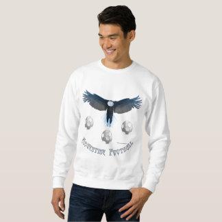 Moletom A camisola dos homens de Eagle do futebol de
