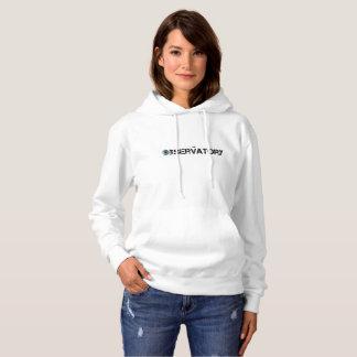Moletom A camisola encapuçado das mulheres - o obervatório