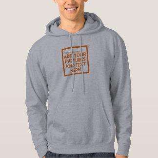 Moletom A camisola encapuçado de DIY adiciona imagens e