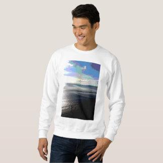 Moletom A camisola Posterized Sunpyx dos homens do verão