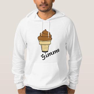 Moletom A comida doce do sorvete personaliza destinos do