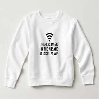 Moletom A mágica no ar é Wifi