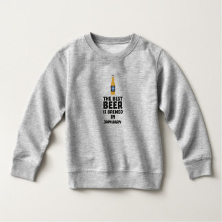 Moletom A melhor cerveja é em janeiro Zxe8k fabricado