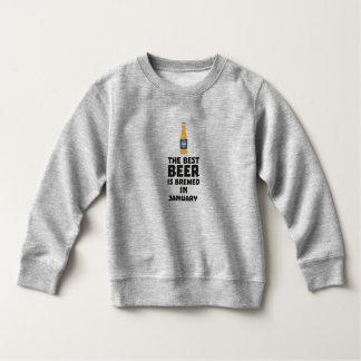 Moletom A melhor cerveja é em maio Z96o7 fabricado cerveja